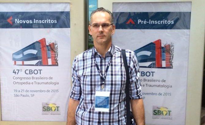 Participação no 47 CBOT: Congresso Brasileiro de Ortopedia e Traumatologia – SP